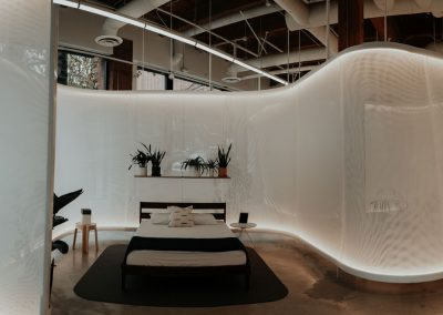 Showroom Design, Bed