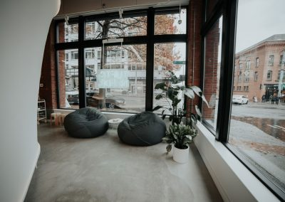 Showroom Design, Bean Bags