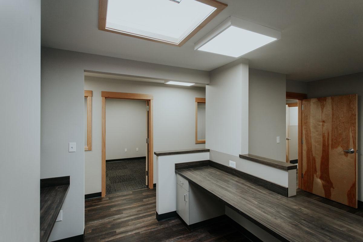 Office Renovation, corridor