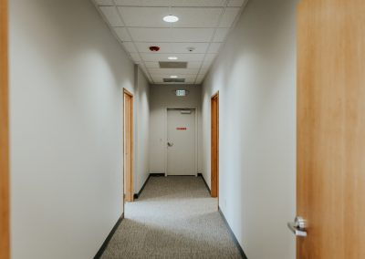 Rainier Title Remodeled Corridor