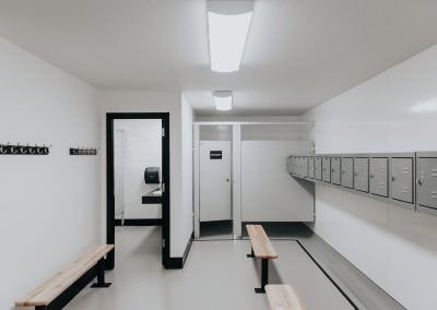 Zion Lutheran School Locker Rooms