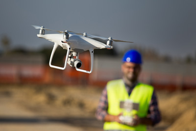 Drones on Commercial Construction Sites